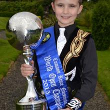 Stephen Gallagher Irish Word Dancing Champion